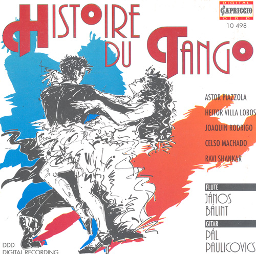Flute and Guitar Recital: Balint, Janos / Paulikovics, Pal - PIAZZOLLA, A. / VILLA-LOBOS, H. / RODRIGO, J. / MACHADO, C. / SHANKAR, R.