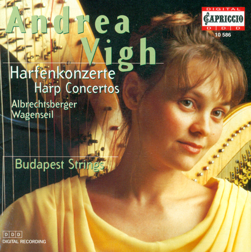 ALBRECHTSBERGER, J.G.: Harp Concerto in C major / Partita in F major / WAGENSEIL, G.C.: Harp Concerto in G major (Vigh, Budapest Strings, Botvay)