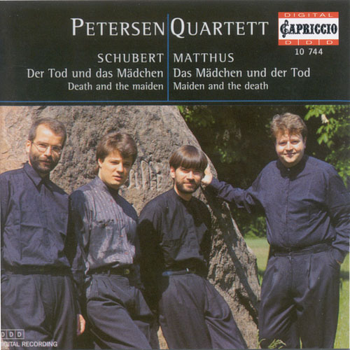 "SCHUBERT, F.: String Quartet No. 14, ""Death and the Maiden"" / MATTHUS, S.: Das Madchen und der Tod"" (Petersen Quartet)"
