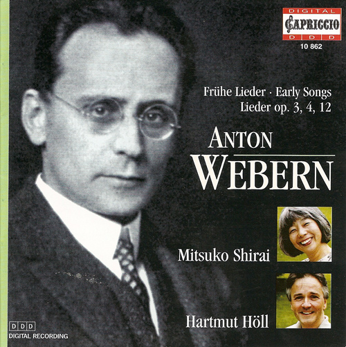 WEBERN, A.: Vocal Music (Shirai, Holl)
