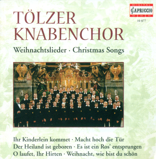 CHRISTMAS SONGS (Tolzer Boys Choir, Schmidt-Gaden)