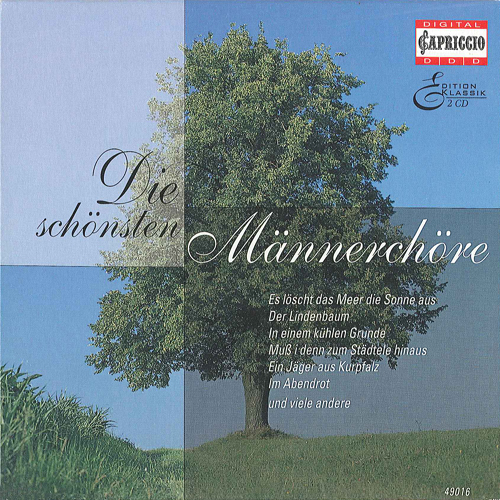 Choral Music (Male Choir) - SILCHER, F. / MENDELSSOHN, Felix / SCHUBERT, F. / BEETHOVEN, L. van / MARSCHNER, H.A. (Die Schonsten Mannerchore)