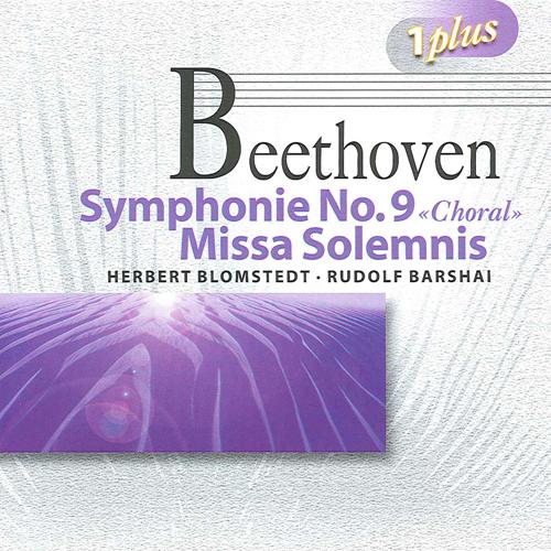 BEETHOVEN, L. van: Symphony No. 9 / Missa Solemnis, Op. 123 (Blomstedt, Barshai)