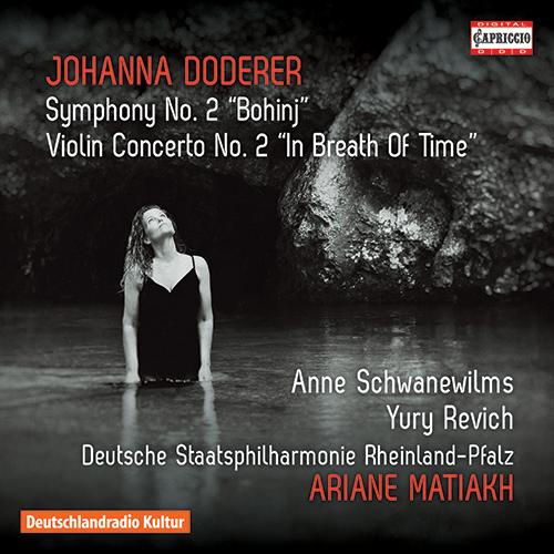 """DODERER, J.: Symphony No. 2, """"Bohinj"""" / Violin Concerto No. 2, """"In Breath of Time"""""""