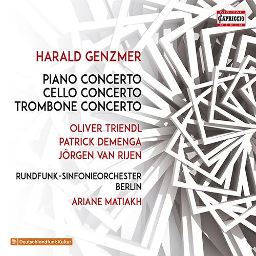 GENZMER, H.: Piano Concerto No. 1 / Cello Concerto / Trombone Concerto