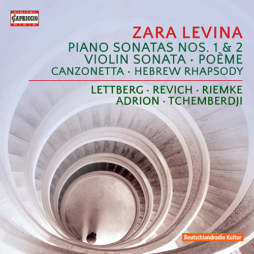 LEVINA, Z.A.: Piano Sonatas Nos. 1 and 2 / Violin Sonata No. 2 / Poem / Canzonetta / Hebrew Rhapsody