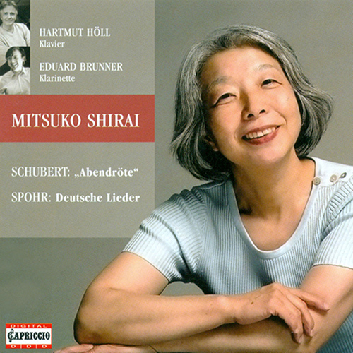 Vocal Recital: Shirai, Mitsuko - SCHUBERT, F. / SPOHR, L.