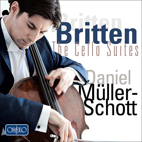 BRITTEN, B.: Cello Suites Nos. 1-3