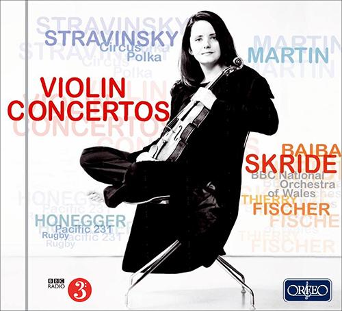 Orchestral Music - STRAVINSKY, I. / HONEGGER, A. / MARTIN, F.
