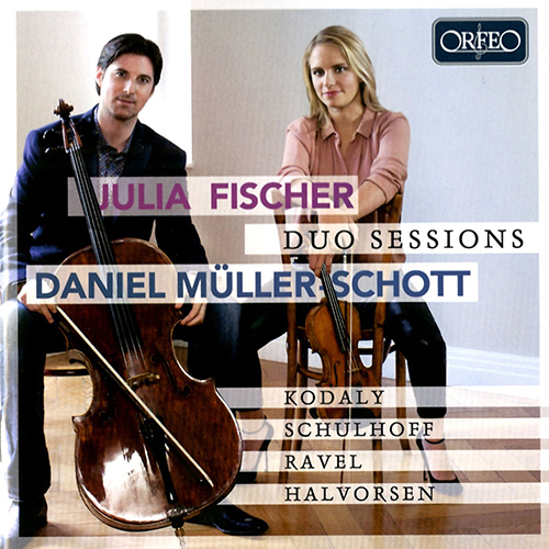 Violin and Cello Recital: Müller-Schott, Daniel / Fischer, Julia - KODÁLY, Z. / SCHULHOFF, E. / RAVEL, M. / HALVORSEN, J. (Duo Sessions)