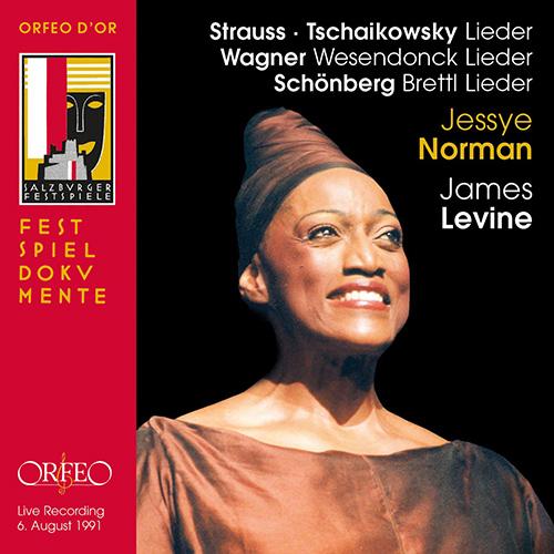 Vocal Recital (Soprano): Norman, Jessye - STRAUSS, R. / TCHAIKOVSKY, P.I. / WAGNER, R. / SCHOENBERG, A.