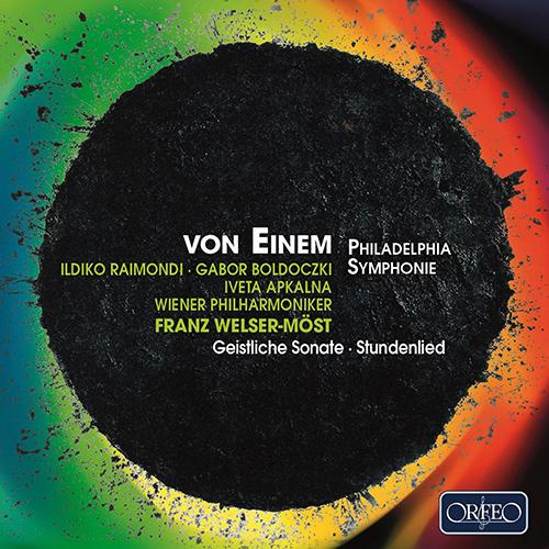 EINEM, G. von: Philadelphia Symphony / Geistliche Sonate / Stundenlied