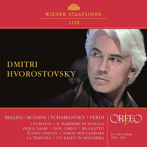 Opera Arias (Baritone): Hvorostovsky, Dmitri - BELLINI, V. / ROSSINI, G. / TCHAIKOVSKY, P. / VERDI, G.
