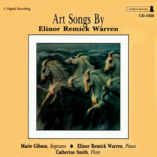 WARREN, E.R.: Vocal Music (Gibson, Scholl)