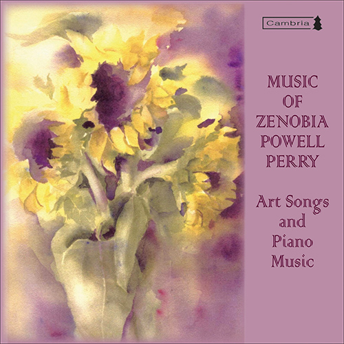 PERRY, Z.P.: Art Songs and Piano Music (Peri, Taylor)