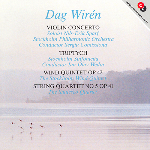 WIREN: Violin Concerto / Triptyk / Wind Quintet / String Quartet No. 5