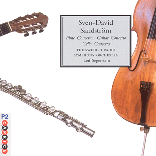 SANDSTROM: Flute Concerto / Lonesome / Cello Concerto