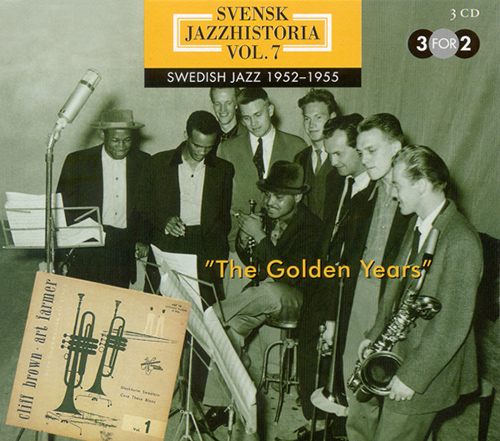SWEDISH JAZZ HISTORY, Vol. 7 (1952-1955)