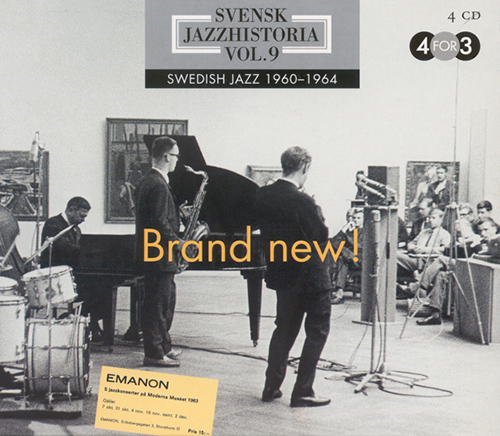 SWEDISH JAZZ HISTORY, Vol. 9 (1960-1964)