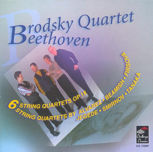 BEETHOVEN: String Quartets Nos. 1-6 / ALVAREZ, J.: Metro Nativitas / JEGEDE: String Quartet No. 2 (Brodsky Quartet)