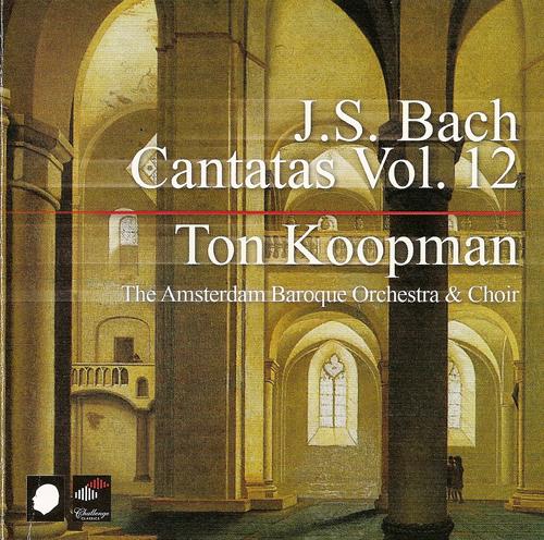 BACH, J.S.: Cantatas (Complete), Vol. 12 (Koopman) - BWV 8, 78, 91, 99, 107, 111, 114, 116, 121, 124, 135