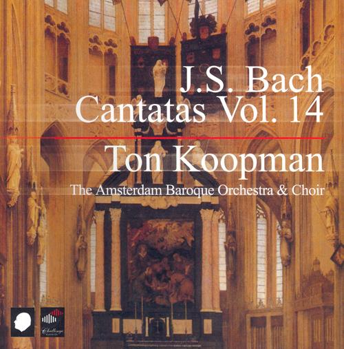 BACH, J.S.: Cantatas (Complete), Vol. 14 (Koopman) - BWV 6, 26, 42, 68, 74, 103, 123, 125, 126, 178