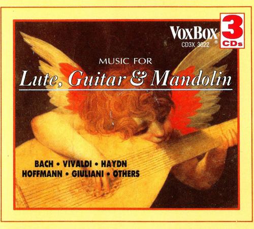 Lute, Guitar and Mandolin Music - BACH, J.S. / VIVALDI, A. / HAYDN, J. / HOFFMANN, J.