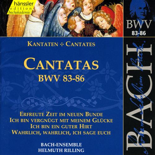 BACH, J.S.: Cantatas, BWV 83-86