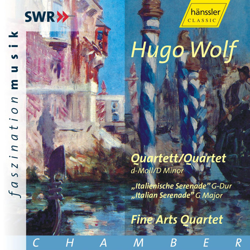 WOLF: String Quartet in D minor / Italian Serenade in G major