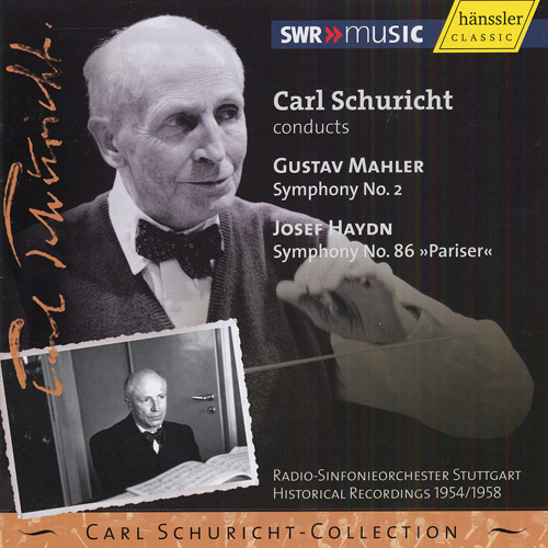 MAHLER, G.: Symphony No. 2 / HAYDN, J.: Symphony No. 86 (Carl Schuricht Collection, Vol. 17) (1954, 1958)
