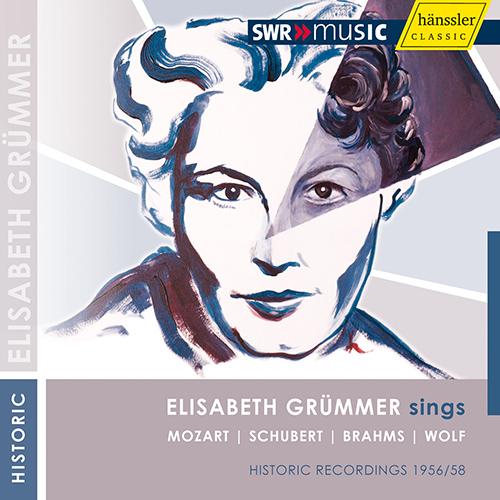 Vocal Recital: Grummer, Elisabeth - MOZART, W.A. / SCHUBERT, F.J. / BRAHMS, J. / WOLF, H.