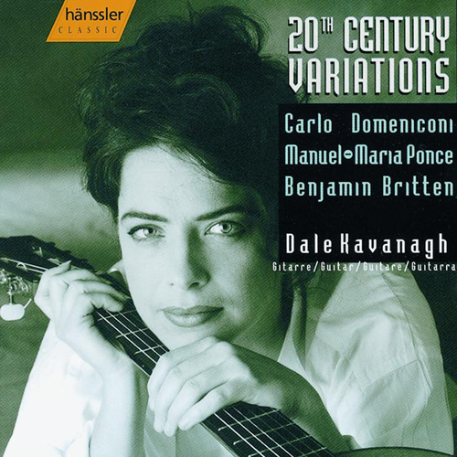 DOMENICONI / BRITTEN / PONCE: Variations for Guitar