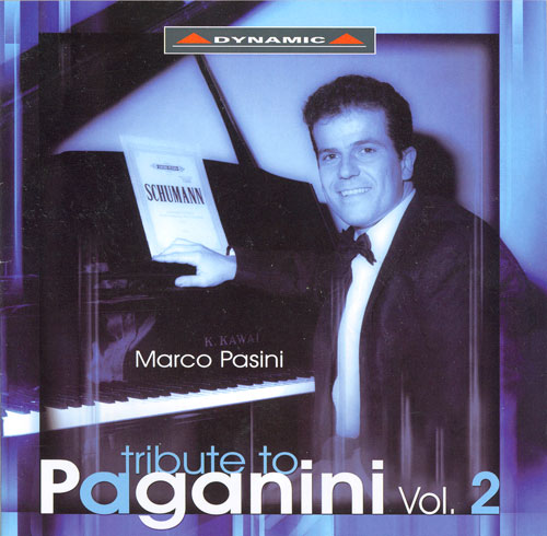 Piano Recital: Pasini, Marco - CRAMER, J.B. / HERZ, H. / SCHUMANN, R. / LISZT, F. / MOSCHELES, I. / BRAHMS, J. (Tribute to Paganini, Vol. 2)