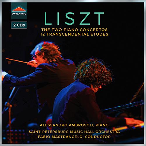 LISZT, F.: 12 Études d'exécution transcendante / Piano Concertos Nos. 1 and 2
