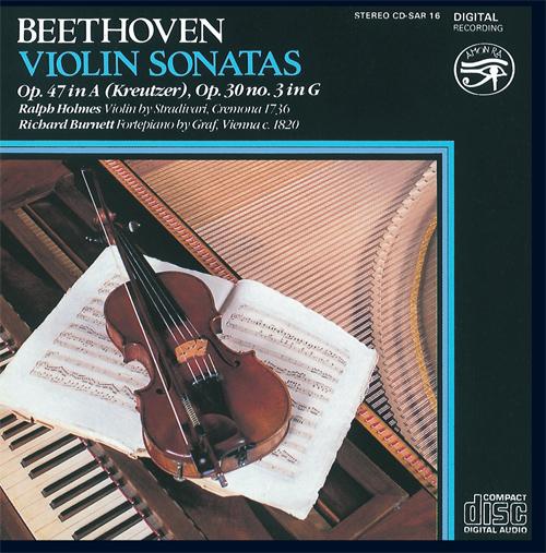 BEETHOVEN, L. van: Violin Sonatas Nos. 8 and 9 (Holmes, Burnett)