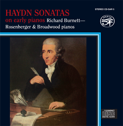 HAYDN, F.J.: Keyboard Sonatas Nos. 24, 35, 60 and 61 (Sonatas on Early Pianos) (Burnett, fortepiano and piano)