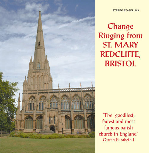 UNITED KINGDOM Change Ringing from St. Mary Redcliffe, Bristol