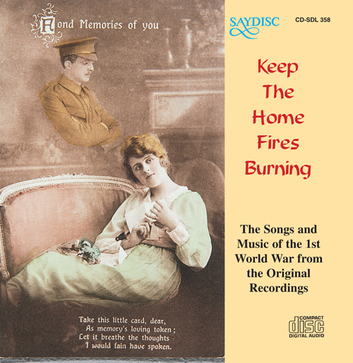 Vocal and Instrumental Music (World War I) - KNIGHT, C. / LYLE, K. / ROOT, G.F. / RUBENS, P. / DIX, J.A. / NOVELLO, I. (Keep the Home Fires Burning)