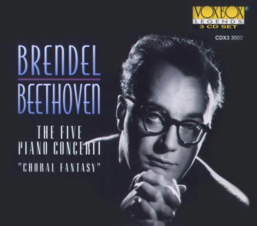BEETHOVEN, L.: Piano Concertos Nos. 1-5 / Choral Fantasy (Brendel)