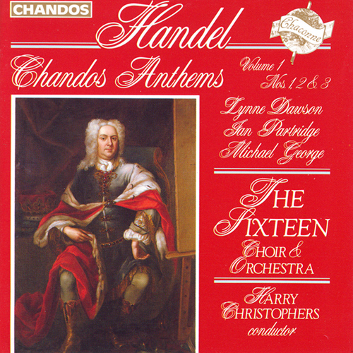 HANDEL: Chandos Anthems, Vol. 1