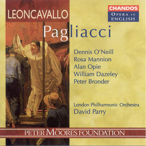 LEONCAVALLO: Pagliacci (Sung in English)