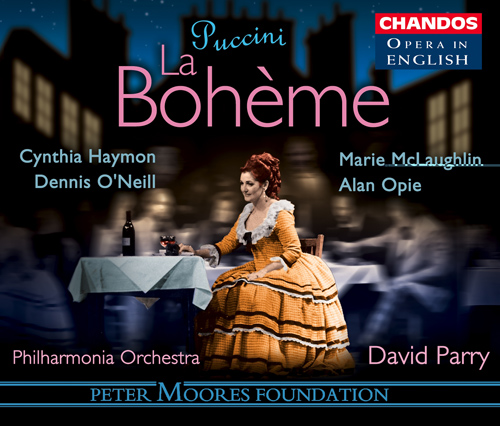 PUCCINI: Boheme (La) (Sung in English)