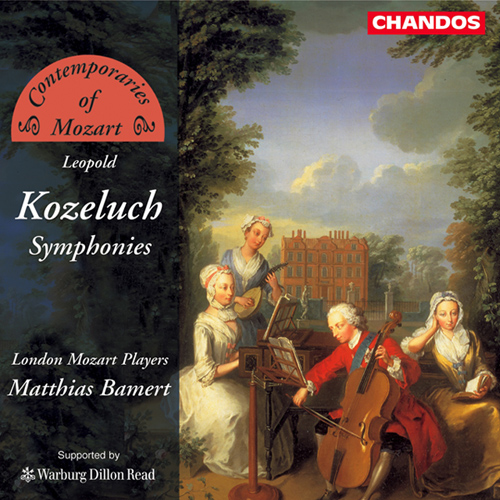 KOZELUCH, L.: Symphonies in D major / G minor / F major
