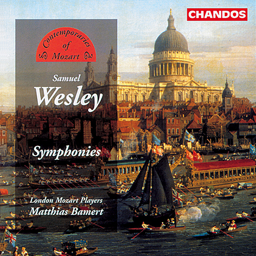 WESLEY: Symphonies in D major / A major / D major / E flat major / B flat major