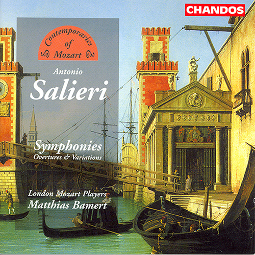 SALIERI: Sinfonias and Overtures