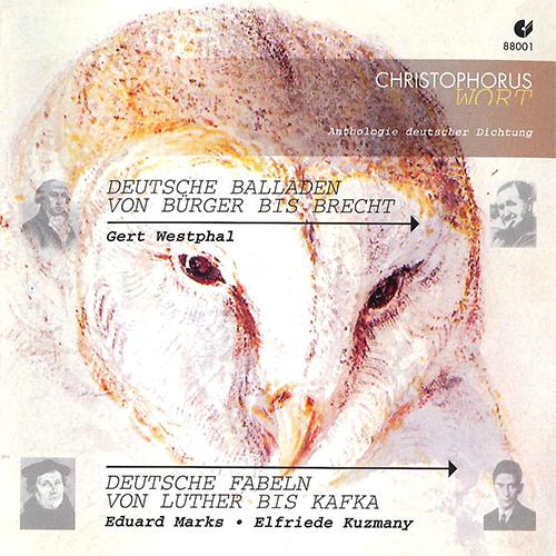 ANTHOLOGIE DEUTSCHER DICHTUNG - Deutsche Fabeln Von Luther Bis Kafka / Deutsche Balladen Von Burger Bis Brecht
