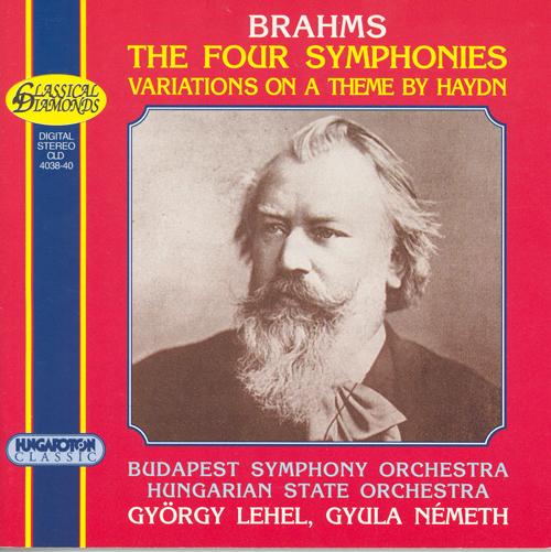 BRAHMS: Symphonies Nos. 1-4 / St. Anthony Variations / Academic Festival Overture