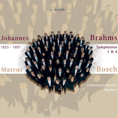 BRAHMS, J.: Symphonies Nos. 1 and 4 (Aachen Symphony, Bosch)