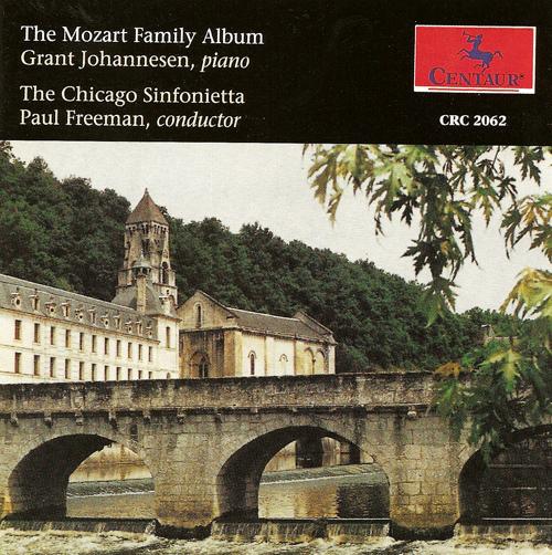 MOZART, F.X.: Piano Concerto No. 2 / MOZART, W.A.: Les petits riens /  MOZART, L.: Die Bauernhochzeit (Johannesen, Chicago Sinfonietta, Freeman)