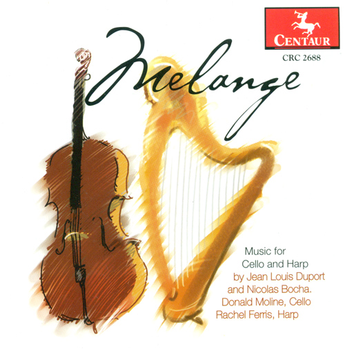 DUPORT, J.-L. / BOCHSA, N.C.: Cello and Harp Music (Melange) (Moline, Ferris)